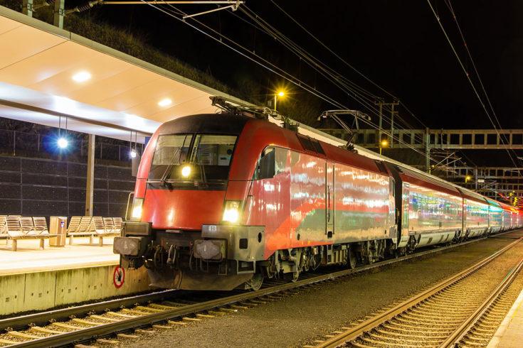 Anreise per Bahn, Anreise nach Radstadt
