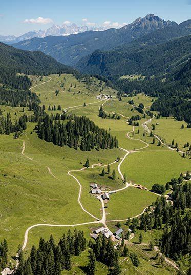 Hofeigene Hintergnadenalm in Obertauern