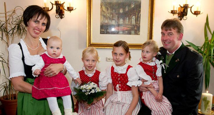 Familie Ebster, Ihre Gastgeber am Hubergut in Radstadt