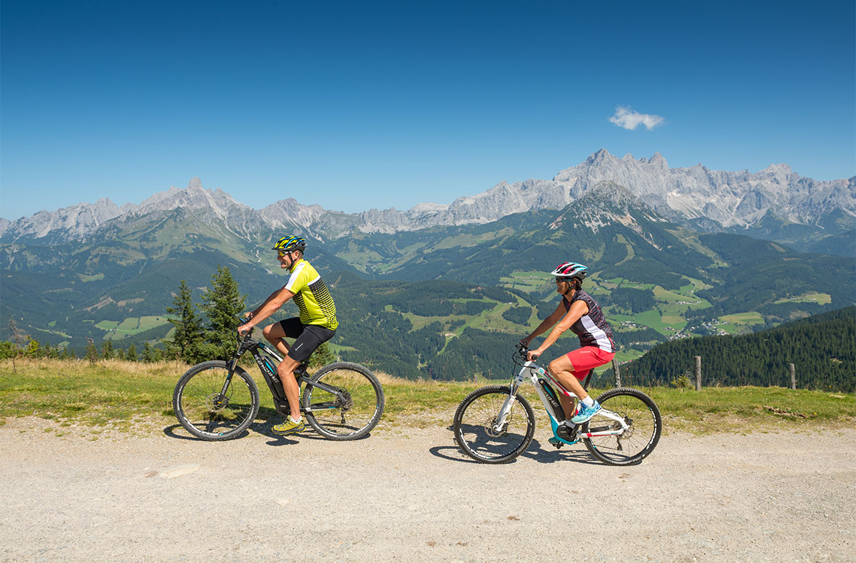 Mountainbiken - Sommerurlaub in Radstadt