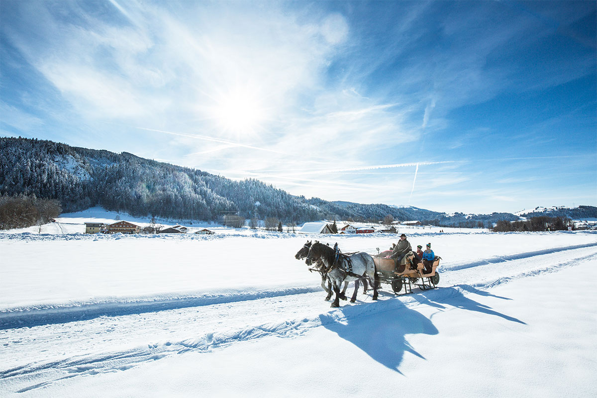 Pferdeschlittenfahrten - Winterurlaub in Radstadt, Ski amadé