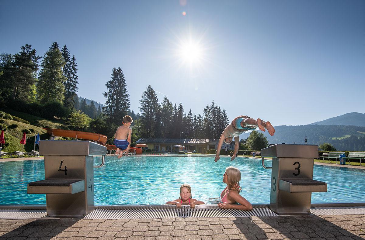 Schwimmen - Sommerurlaub in Radstadt